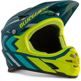 bluegrass Intox Casco, avio/blue shaded/fluo yellow